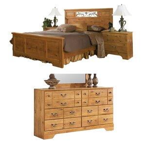 pine bedroom set. Cheyanne Queen Panel Configurable Bedroom Set Pine Sets You ll Love  Wayfair