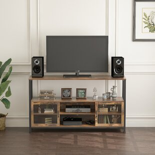 Knap TV Stand with Fireplace Included by Millwood Pines