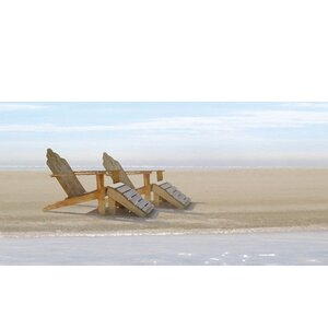 Endless Beach artwork by Noah Bay Painting Print on Wrapped Canvas by Portfolio Canvas Decor