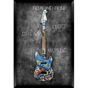 Guitar I Framed Graphic Art