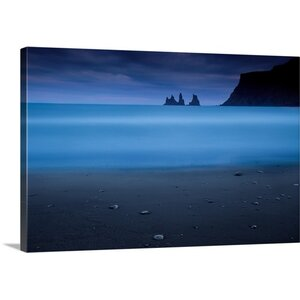 Blue Night II by Amnon Eichelberg Wall Art on Canvas by Canvas On Demand