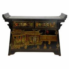 Altar 2 Drawer Cabinet by Oriental Furniture