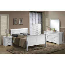 Caldello Twin Panel Customizable Bedroom Set by Darby Home Co