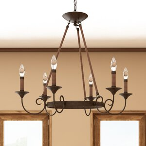 Jacy 6 Light Candle Style Chandelier