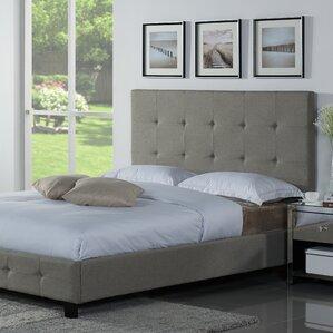 tiara upholstered platform bed - Upholstered King Bed Frame