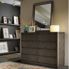 Norton 8 Drawer Dresser with Mirror by 17 Stories