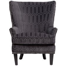Claudette Wing back Chair by Porter International Designs