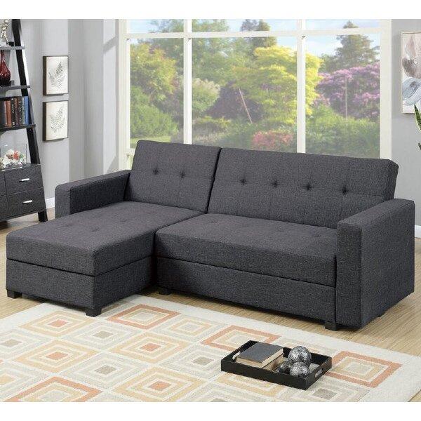 Infini Furnishings Sleeper Sectional Amp Reviews Wayfair