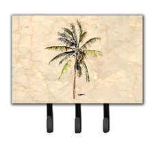 Palm Tree Leash Holder and Key Hook by Caroline's Treasures