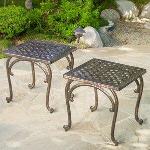 patio tables you'll love   wayfair