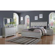 Rohan Queen Panel 4 Piece Bedroom Set by Willa Arlo Interiors