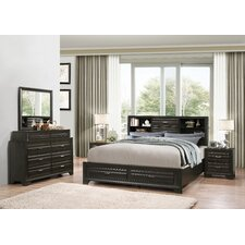 Loiret Wood 5 Piece Bedroom Set by Roundhill Furniture