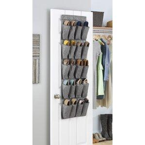 Whitmor 20-Pocket Overdoor Shoe Organizer