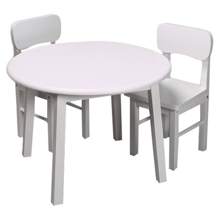 Gift Mark Kids 3 Piece Table And Chair Set Amp Reviews Wayfair