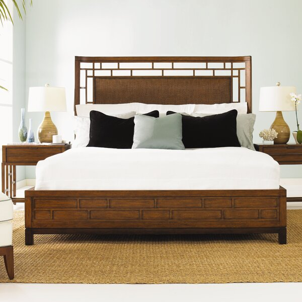 Tommy bahama home ocean club panel bed reviews wayfair for Bahama towel chaise cover