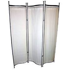 68 x 58 Privacy Screen 3 Panel Room Divider by Pangaea Home and Garden