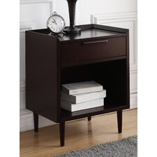 Whitman 1 Drawer Nightstand by George Oliver