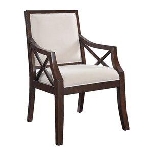 Fabric Armchair by Coast to Coast Imports LLC