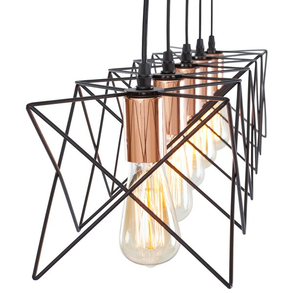 Williston Forge Carlotta  Light Led Kitchen Island Pendant