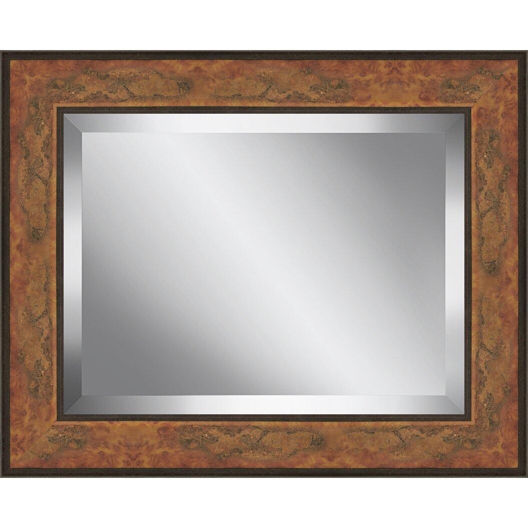 Ashton Wall D Cor Llc Rectangle Aged Framed Beveled Plate