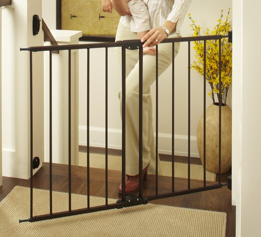 North States Easy Swing Amp Lock Safety Gate Amp Reviews Wayfair