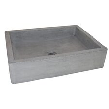 Nipomo Rectangular Vessel Bathroom Sink