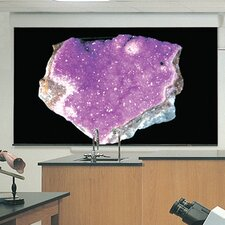 Silhouette Series E Argent White Electric Projection Screen by Draper