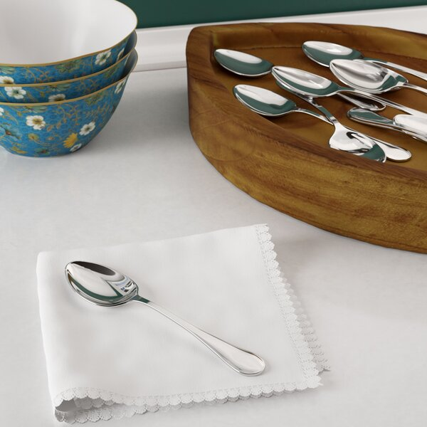 Rain Stainless Steel Teaspoon (Set of 12) by New Star Food Service