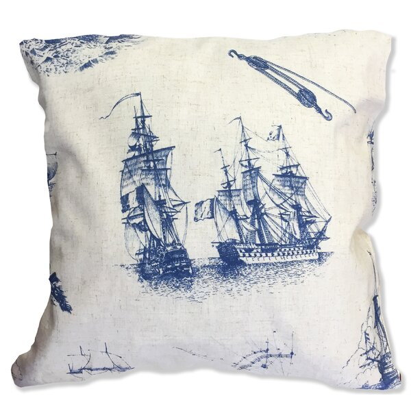 Cape Cod Decorative Throw Pillow by Homewear Linens