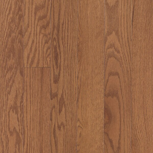 Randhurst Random Width Engineered Oak Hardwood Flooring in Saddle by Mohawk Flooring