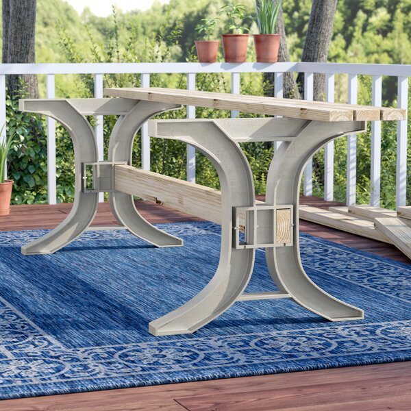 Westview Patio Dining Table Legs by Charlton Home
