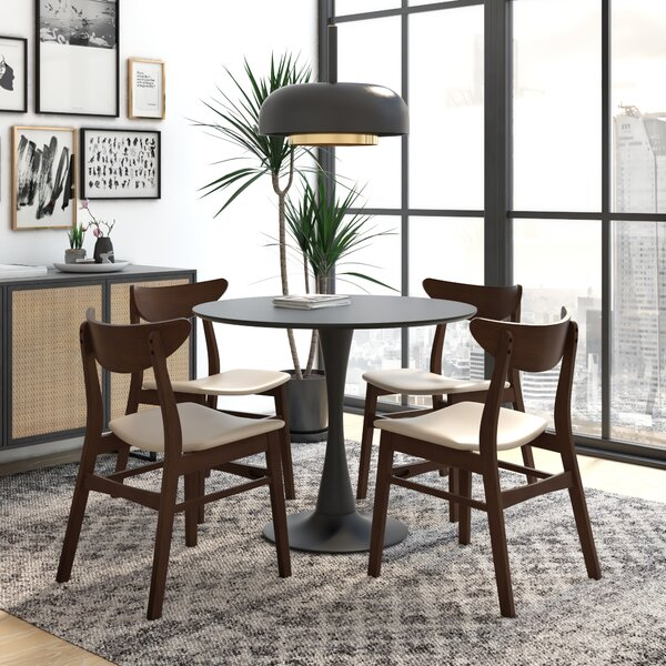 Shallowater 5 Piece Dining Set by George Oliver George Oliver