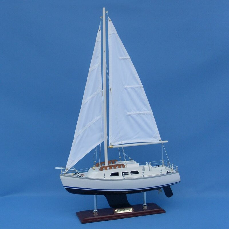 Charming Catalina Model Yacht