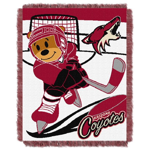 NHL Coyotes Baby Woven Throw Blanket by Northwest Co.