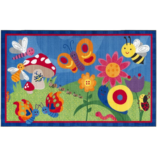 Cutie Bugs Kids Rug by Flagship Carpets
