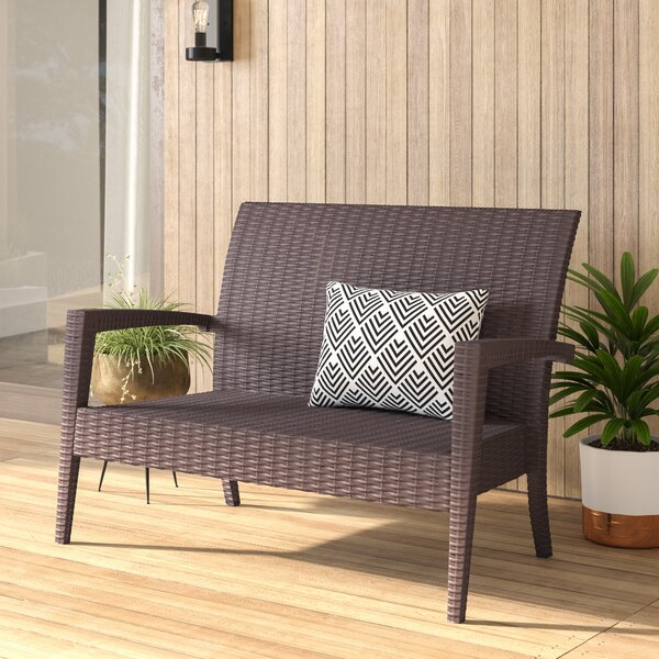 Kassiopeia Loveseat with Cushions by Mercury Row