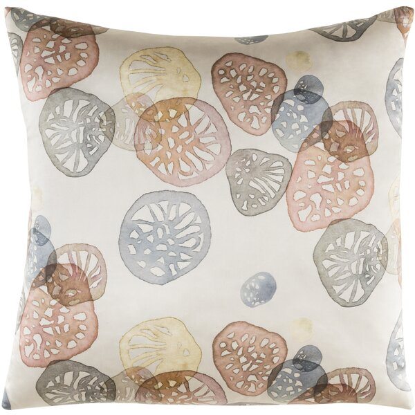 Natural Affinity Silk Pillow Cover by Shell Rummel