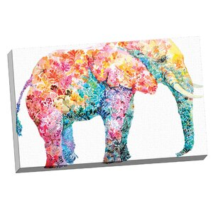 'Elephant Gum' Painting Print on Wrapped Canvas by Mistana