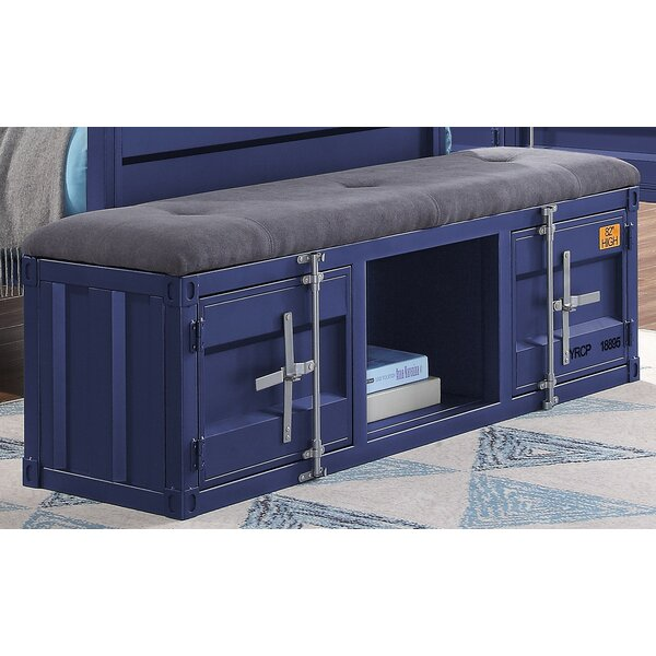 Otero Upholstered Storage Bench by Zoomie Kids