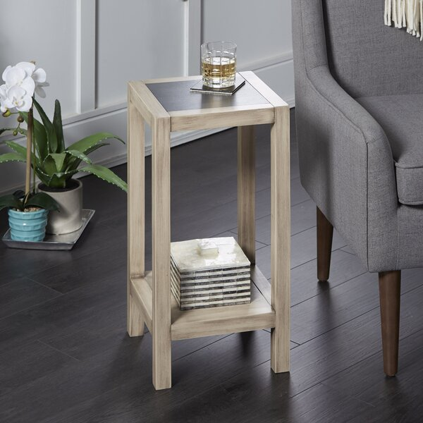 Hummel Wood Square Small End Table by Union Rustic