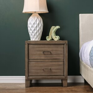 Leporis 2 Drawer Nightstand by Latitude Run