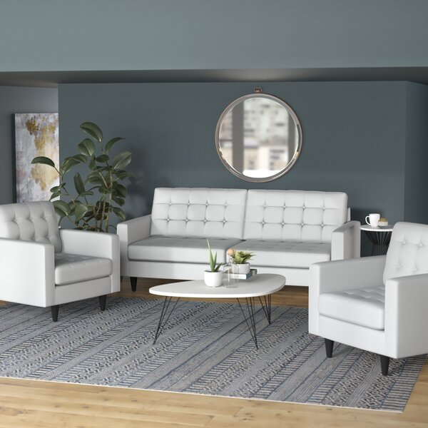 Warren 3 Piece Living Room Set by Langley Street