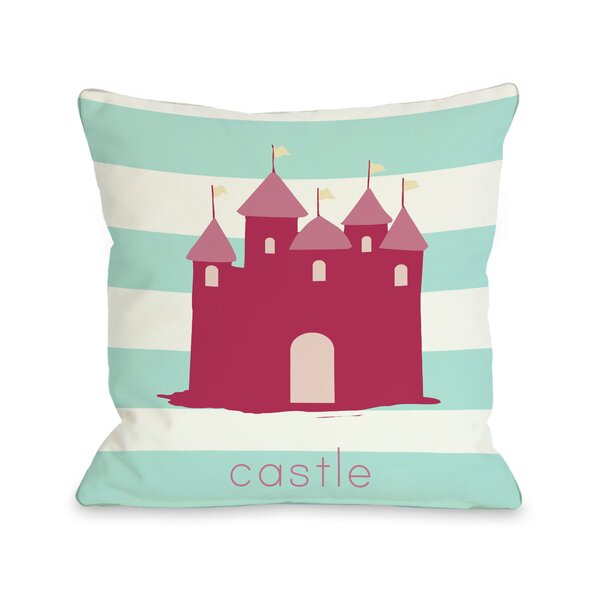 Castle Throw Pillow by One Bella Casa