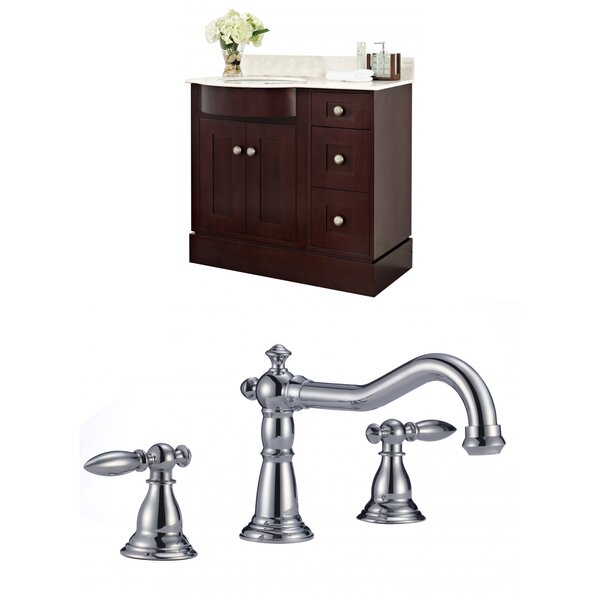 Kester 36 Multi-layer Stain Single Bathroom Vanity Set by Darby Home Co