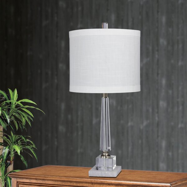 Arnt Tapered 26 Table Lamp (Set of 2) by House of Hampton