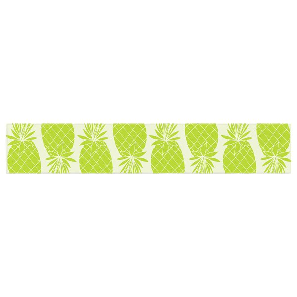 Anchobee Pinya Pattern Table Runner by East Urban Home