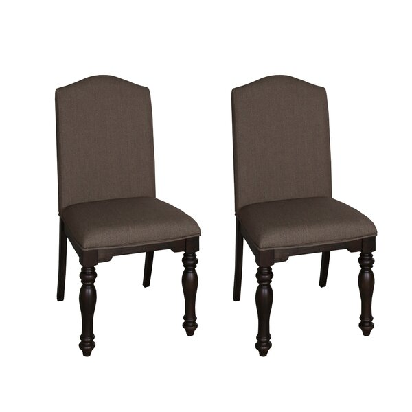 Bulpitt Upholstered Side Chair (Set of 2) by Three Posts