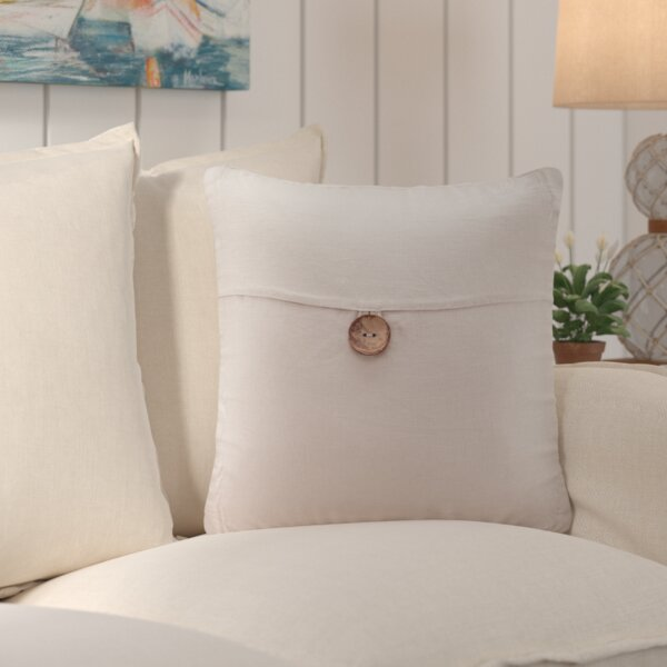 Averill Square Throw Pillow by Beachcrest Home