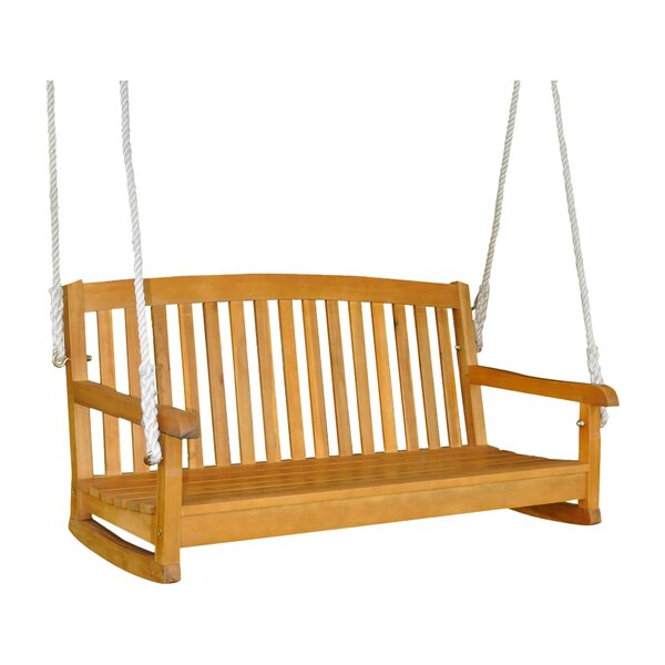 Bristol Porch Swing by Beachcrest Home
