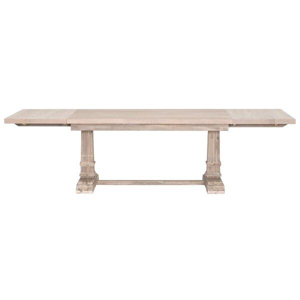 Derwent Leaf Extendable Dining Table by Three Posts